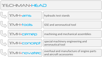 techman-head group structure